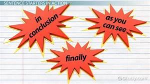 Conclusion Paragraph Starters - Video & Lesson Transcript ...
