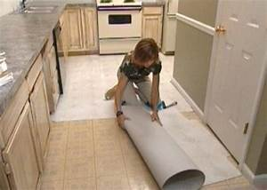 How to Install Self-Stick Floor Tiles how-tos DIY