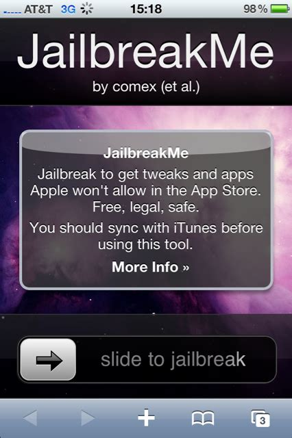 jailbreak for iphone jailbreakme jailbreak for all devices