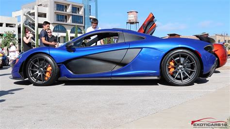 Mclaren P1 Start Up & Leaving Cars And Coffee Austin Texas