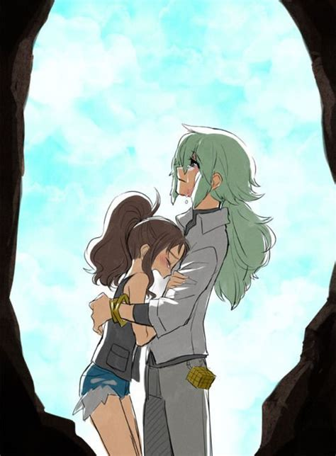 foto de N: Don't cry Touko I will always love you #PokemonBW