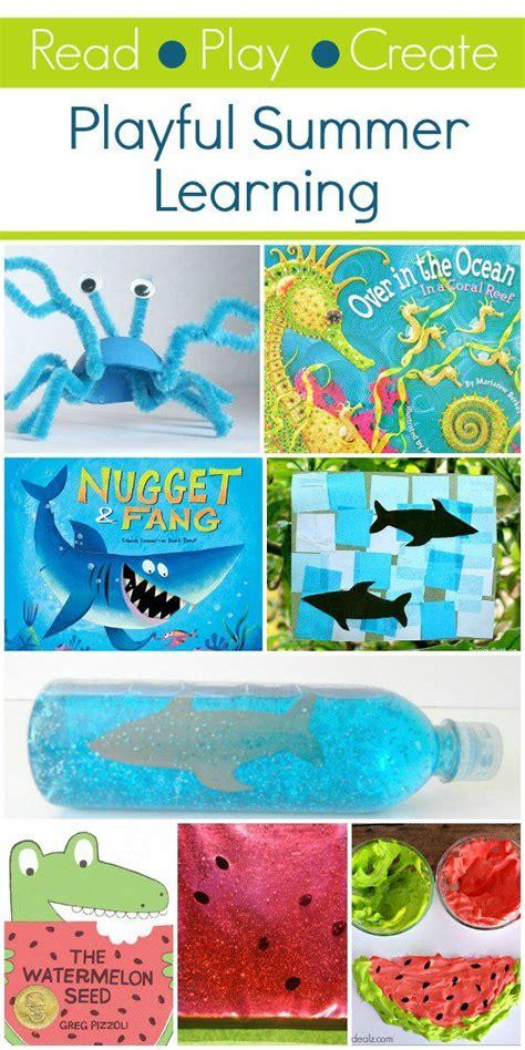 read play create summer activities for summer play 143 | de21c01b0e7f503afdd82e7cc4b0fd3a themes for preschool summer activities for kids