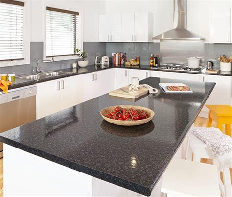 Black Granite Bench Tops by Black Granite Kaboodle Kitchen