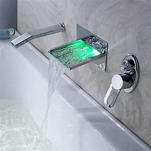 Robinet Cascade Baignoire : la robinetterie de baignoire pour la salle de bains moderne ~ Nature-et-papiers.com Idées de Décoration