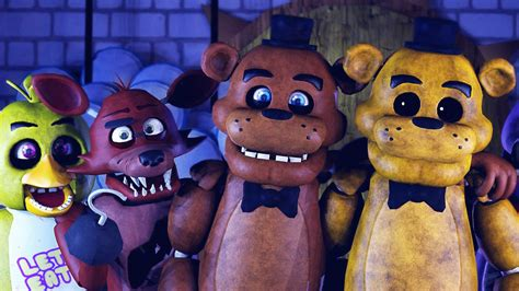 Five Nights At Freddy S Animated Wallpaper - nightmare fnaf horror freddy five nights at