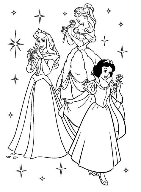 Prinsessen Disney Kleurplaten by Kleurplaat Disney Princessen 8100 Kleurplaten