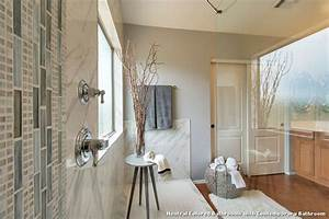 Neutral, Colored, Bathrooms