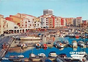 Cpsm France 34  U0026quot Le Cap D U0026 39 Agde  Le Port U0026quot