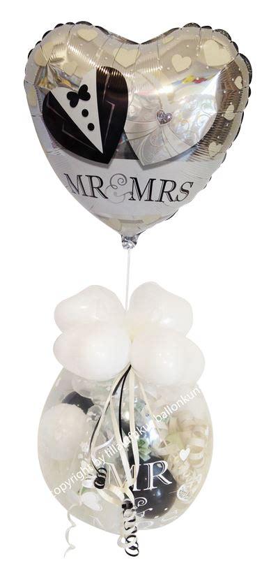 geschenk ballon hochzeit    herz geldgeschenk