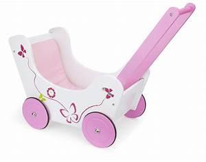 Puppenwagen Lauflernwagen Holz : puppenwagen lauflernwagen aus holz pink ~ Watch28wear.com Haus und Dekorationen
