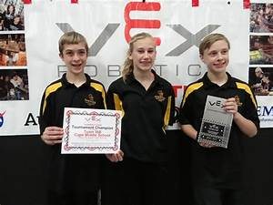 VEX Robotics Competition winners announced - CentralMaine.com