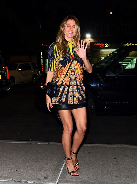 Sexy Heidi Klum Feet Pictures Which Will Leave You