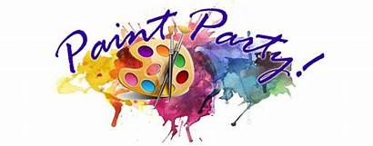 Paint Party Clipart Painting Night Parties Painter