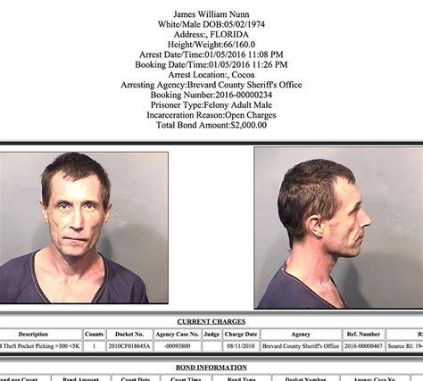 arrests  brevard county january