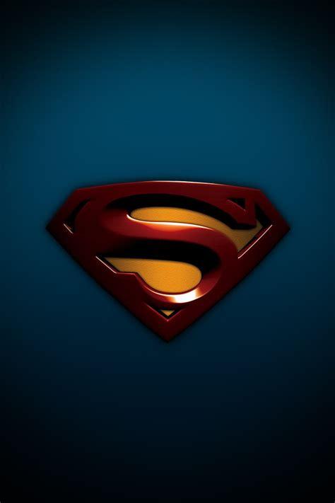 Superman Logo Iphone Wallpaper Iphone Retina Wallpapers