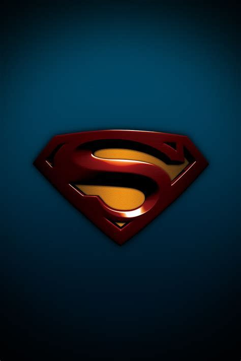 Superman Logo Iphone Wallpaper Iphone Retina Wallpapers