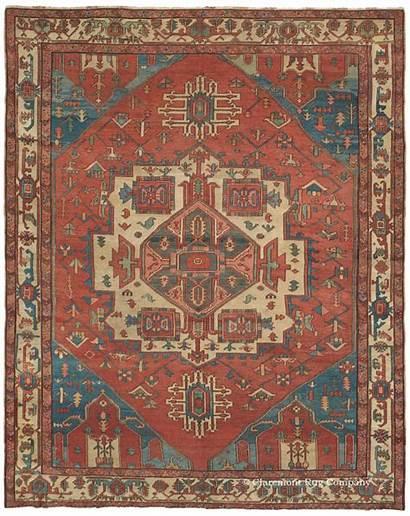 Carpet Antique Rug Rugs Persian Serapi Carpets