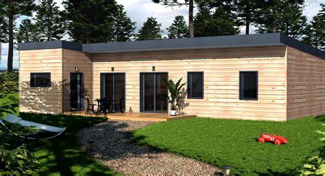 sejour avec cuisine ouverte maison wooden modèle orme maison wooden l 39 habitat