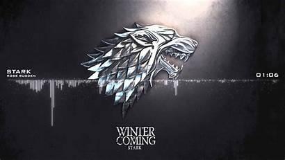 Winter Coming Thrones Wallpapers Stark Theme Season