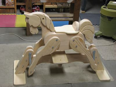 horse gliders woodworking blog  plans