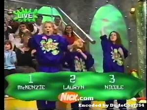 Nickelodeon's Slime Time Live 1 22 2000 - YouTube