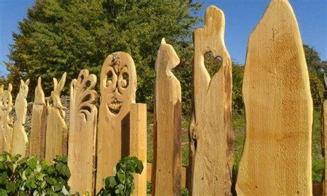 Gartendeko Holzbrett by Holz Zaun Gartendeko Holz Zaun Gartenzaun Holz Und