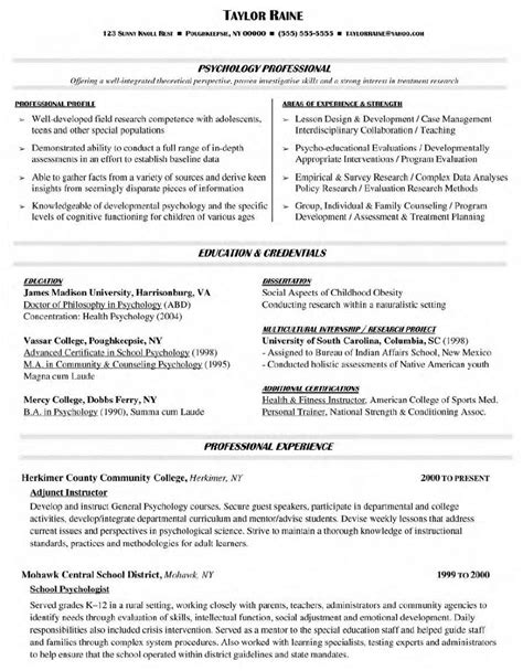 free functional resume templates and sles professor resume format resume format