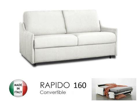 canapé 160 cm convertible canapé lit 4 places convertible ouverture rapido 160
