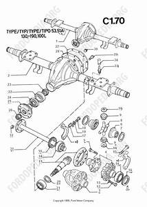 Ford Transit Mkiii  1985-1991  Parts List  C1 70 - Rear Axle
