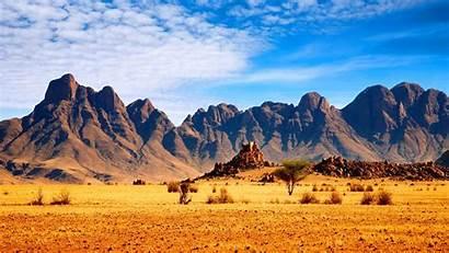 African Background Nature Savanna Windows Laptop Mountains