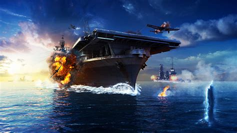 wallpaper world  warships game mmorpg simulator sea