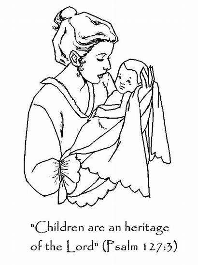 Heritage Children 127 Coloring Psalm Childrenschapel
