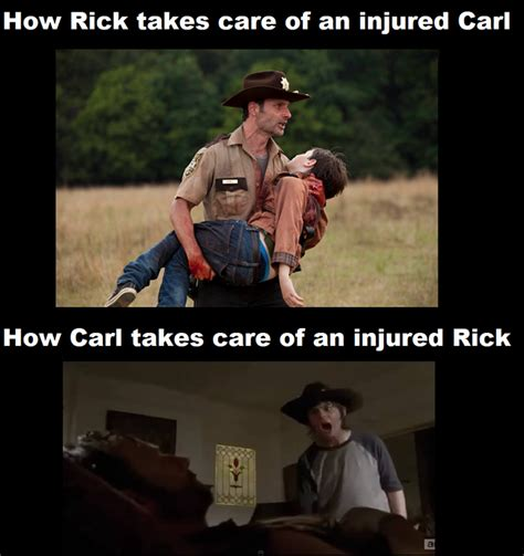 Walking Dead Rick And Carl Meme - the walking dead carl meme google search the walking dead board pinterest carl