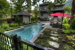 amenagement exterieur piscine creusee palzoncom With amenagement paysager avec piscine creusee
