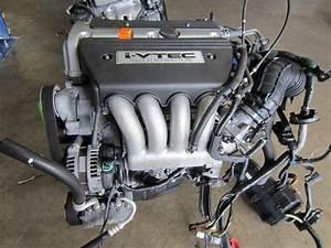 03-07 Honda Accord Element 2 4l Dohc 16v I-vtec K24a K24a1 Engine