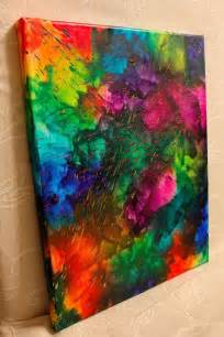 Color Splashing Art Crayon Rainbow 11