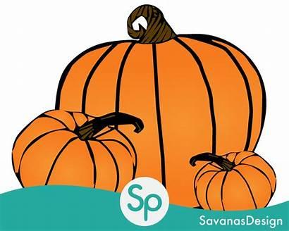 Pumpkin Clipart Vector Decorating Clip Halloween Patch