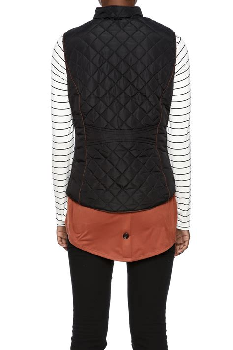quilted puffer vest active quilted puffer vest from idaho by garment district