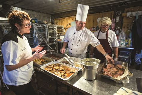 bureau chef harvest for hospice raising funds at farm to