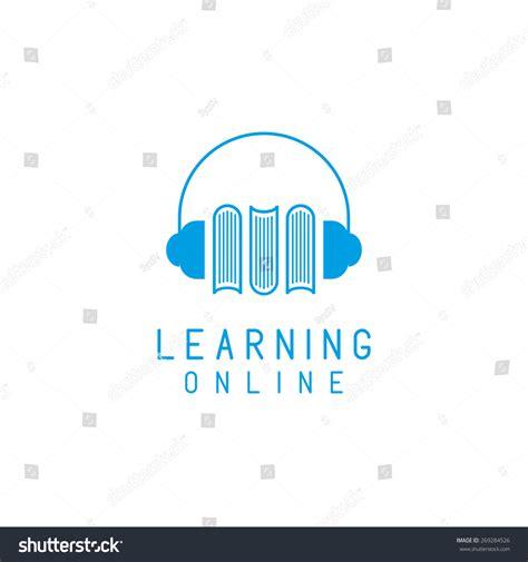 Headphones Books Logo Online Language Learning Stock Vector 269284526 Shutterstock