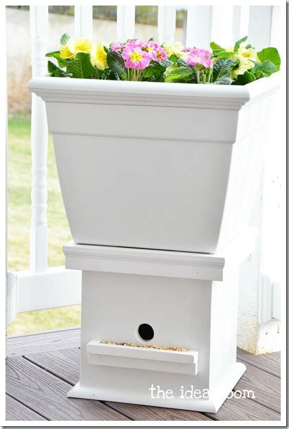 flower pot bird house  idea room