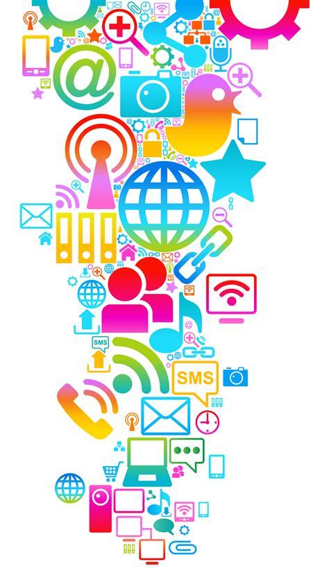 Social Media Background Social Media Wallpaper Wallpapersafari