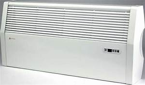 Myson Loline Wall Hung Fan Heaters With Remote Control