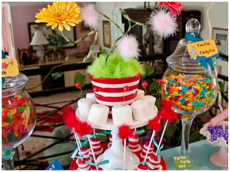 Dr Seuss Baby Shower Pizzazzerie