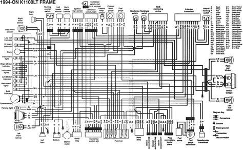 Bmw K1100r Wiring Diagram by K Bike Wiring Diagrams