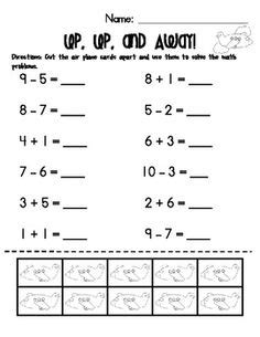 addition  subtraction worksheets clipart collection