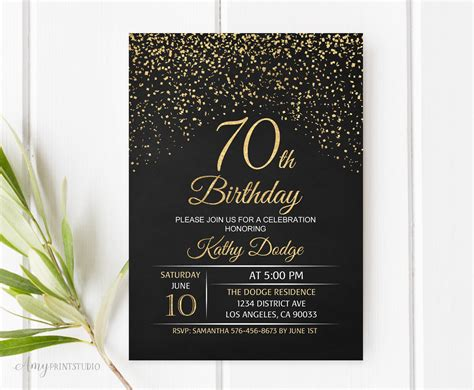 ideas immaculate ideas   birthday invitations