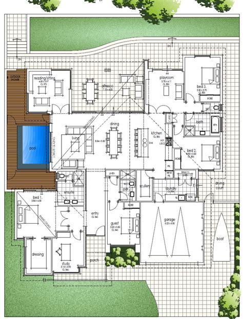pictures modern open floor plans fantastic single storey house design an architect tribute