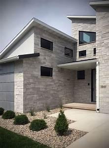 Tailored, Blend, Modern, Home, Exterior, Stone, Veneer
