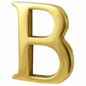polished brass concealed fix front door letters a z 2in 51mm With 3 brass letters